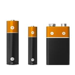 różne rodzaje baterii