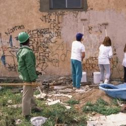 zmywanie ściany