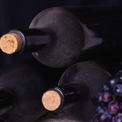 butelki okorkowane na wino