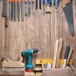 warsztat majsterkowicza, narzędzia
