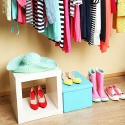 system przechowywania ubrań