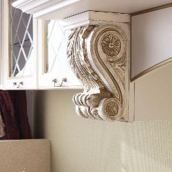 ornamentyka we wnętrzu prowansalskim