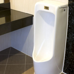 pisuar stojący, mieszkanie, łazienka