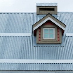 dach z blachy falistej