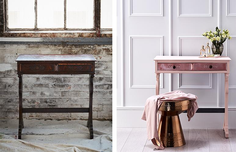 renowacja stolika