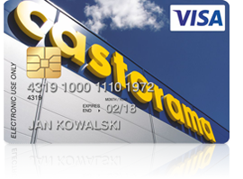 karta kredytowa Visa Castorama
